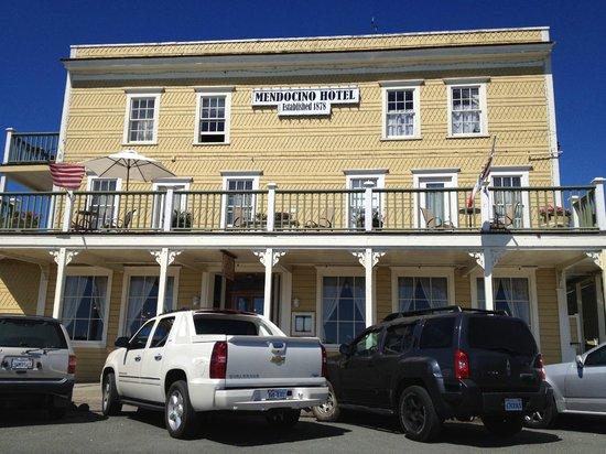 Mendocino Coast: Um antigo hotel