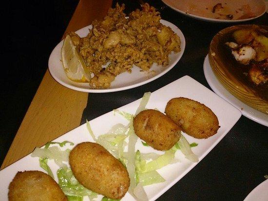Taperia Ordesa: Croquetas de jamón