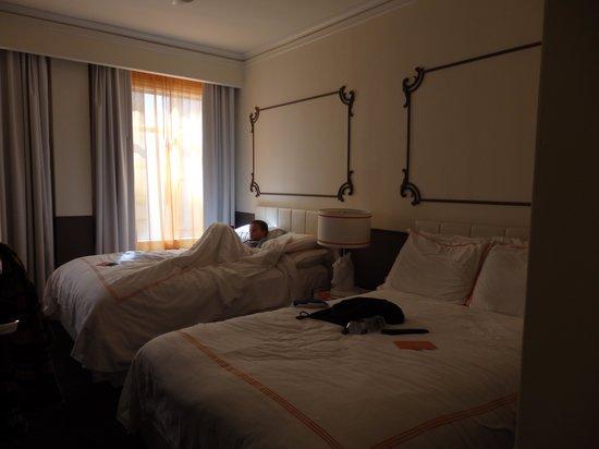 Hotel Vertigo: La chambre