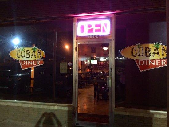 Cuban Diner exterior