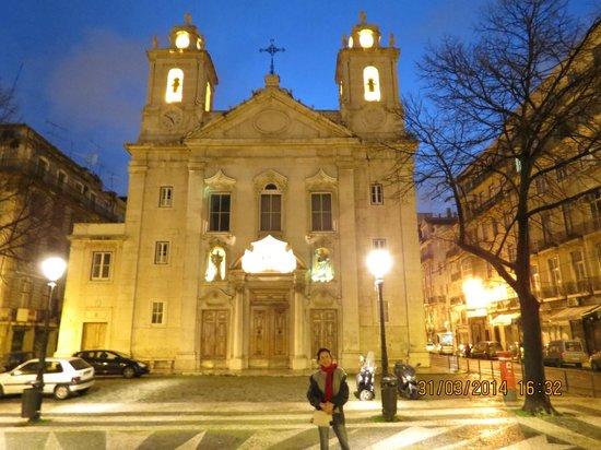 Igreja de São Paulo, opposite from Lisbon Calling