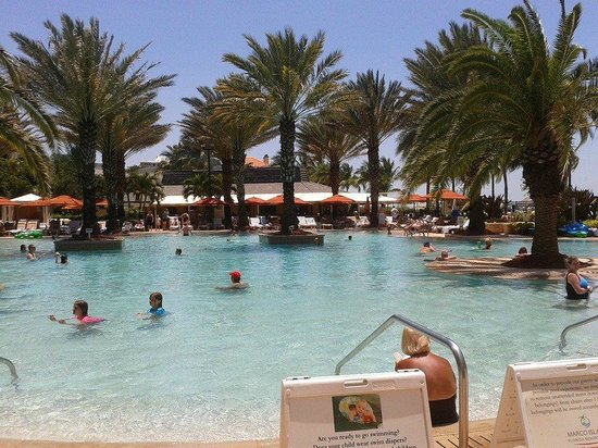 Marco Island Marriott Resort, Golf Club & Spa : Love the pool
