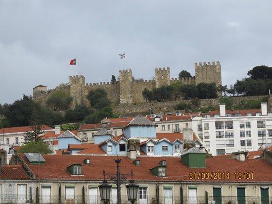 Lisbon Calling: Castelo de São Jorge, not far from the hostel
