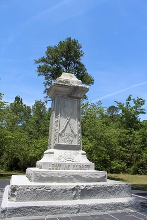 Natural Bridge Battlefield Historic State Park: The Monument