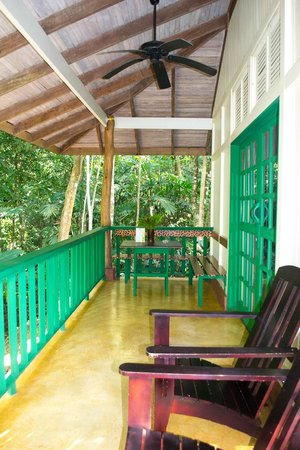 Hotel Villas Gaia : Private Outdoor Porch