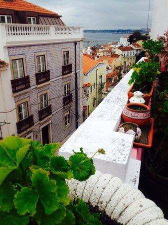 Alfama Patio Hostel : View