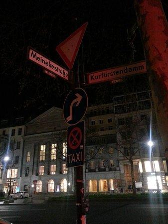Berlin Mark Hotel : la strada in cui si trova l'hotel