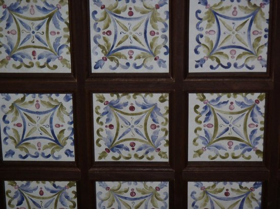 Palacio del Inka, A Luxury Collection Hotel, Cusco: Hand painted ceiling tiles