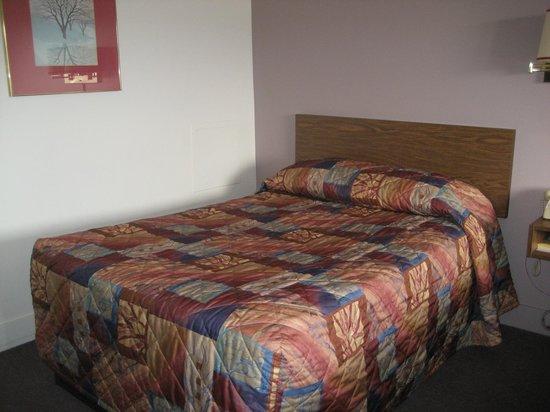 Howe Caverns Motel: bed