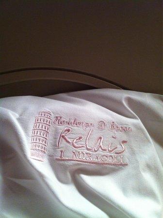 Relais I Miracoli B&B Pisa : Dettagli cuscino