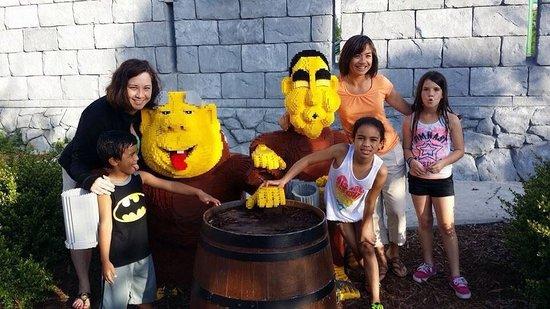 Legoland Florida Resort: Our new buddies