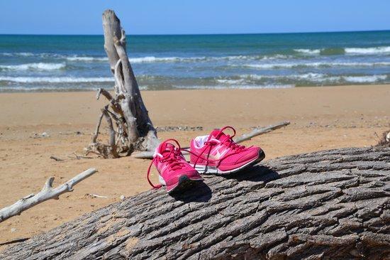 Riserva Naturale del Fiume Irminio: la spiaggia