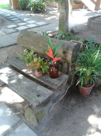 Pousada Quarto Crescente : jardim