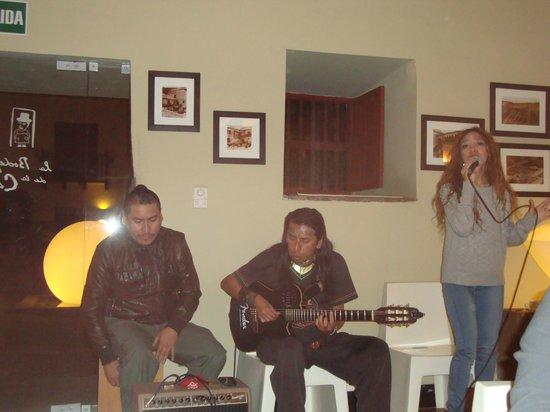 Casa Cartagena Boutique Hotel & Spa: Musicos en vivo