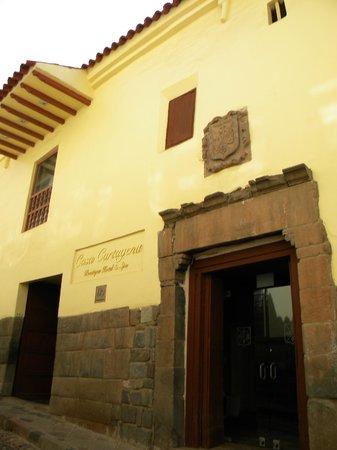 Casa Cartagena Boutique Hotel & Spa: Fachada exterior