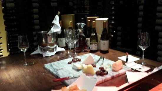 Conrad Miami: Wine & cheese reception for Amex Fine Hotels & Resorts and Diamond VIPs