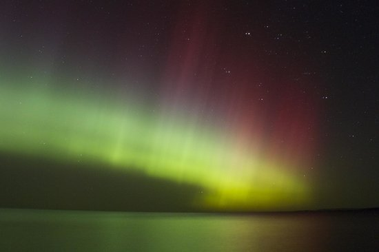 Upper Peninsula: Northern Lights Oct 2013 Little Girl's Point, Lake Superior
