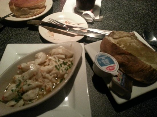 Channel Marker: Jumbo lump crab with a baked potato