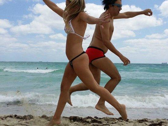 Aqua Hotel and Suites: playa