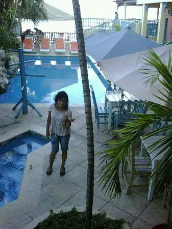 Hotel Casona de la Isla: Pool and whirlpool