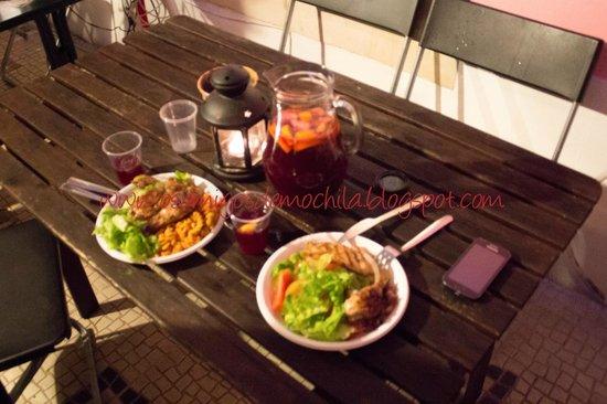Alfama Patio Hostel: BBQ