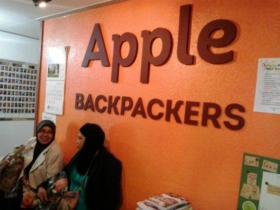 Apple Backpackers Guesthouse: Chekin