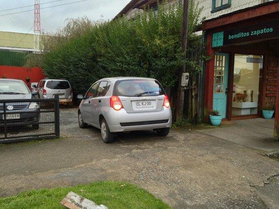 Hotel Weisserhaus: Tiene lugar para estacionar
