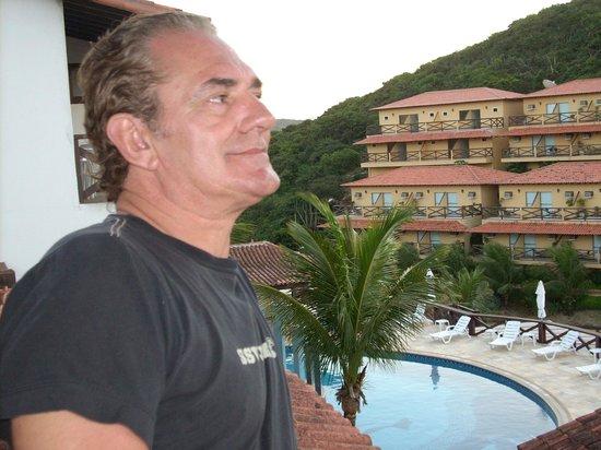 Hotel Ilha Branca Inn : vista del hotel rio buzios - enfrente