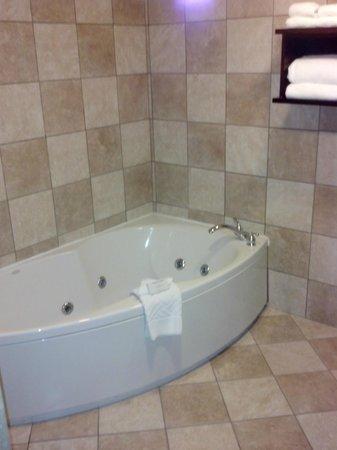Hilton Tampa Airport Westshore: Suite tub