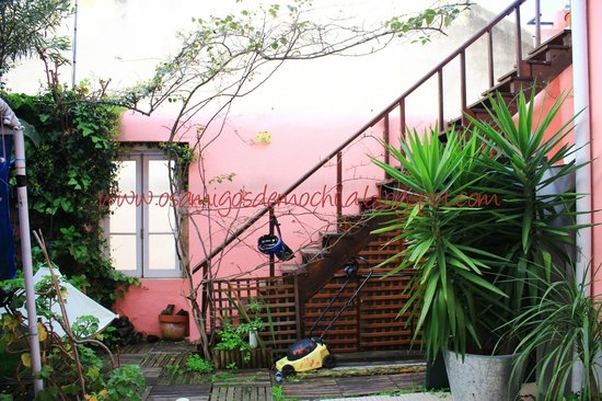 Alfama Patio Hostel : Área Externa