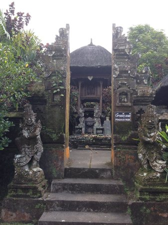 Bali Mountain Retreat: Local templ