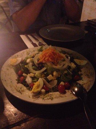 Restaurante Patanegra: Ensalada Mediterranea!!! Suculenta... Muy recomendable
