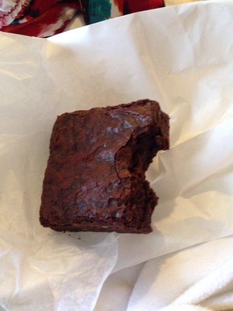 Baked and Wired: Plain brownie