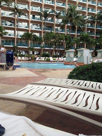 San Juan Marriott Resort & Stellaris Casino : Shallow pool