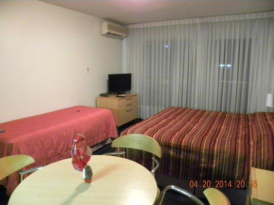 Punta Trouville Hotel: Quarto