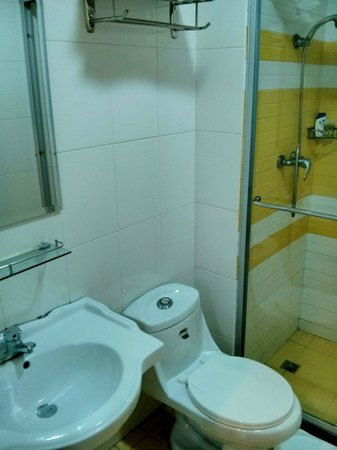 7 Days Inn (Shanghai Lujiazui): Bathroom