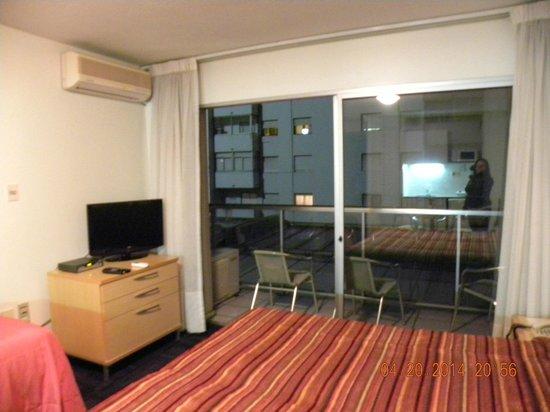 Punta Trouville Hotel: Varanda do quarto