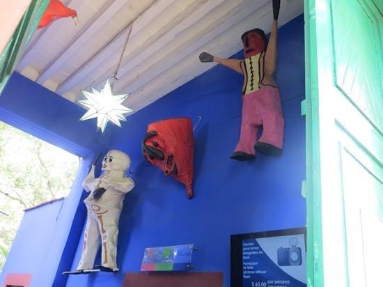 Musée Frida Kahlo : Entrada do museu