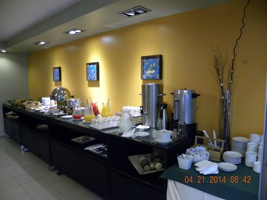 Punta Trouville Hotel: Buffet Café