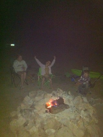 AAA Lazy R & R Cove : Camp fire