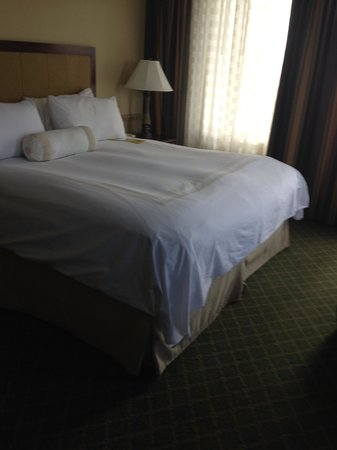 Augusta Marriott at the Convention Center: Corner room