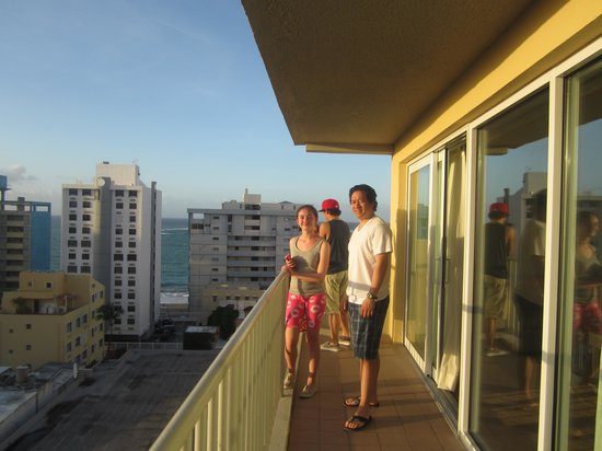 Best Western Plus Condado Palm Inn & Suites: balcony