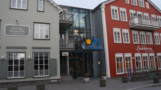 Hotel Reykjavik Centrum : Hotellet