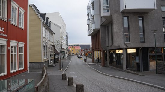 Hotel Reykjavik Centrum: Til hovedgata