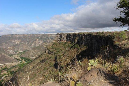 Huasca de Ocampo, México: Viista de la zona