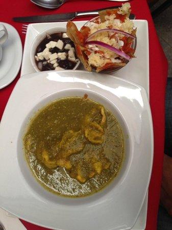 Hotel Casona San Antonio: Chilaquiles