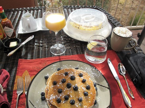 Sedona Cathedral Hideaway: Gourmet Breakfast---Made to Order