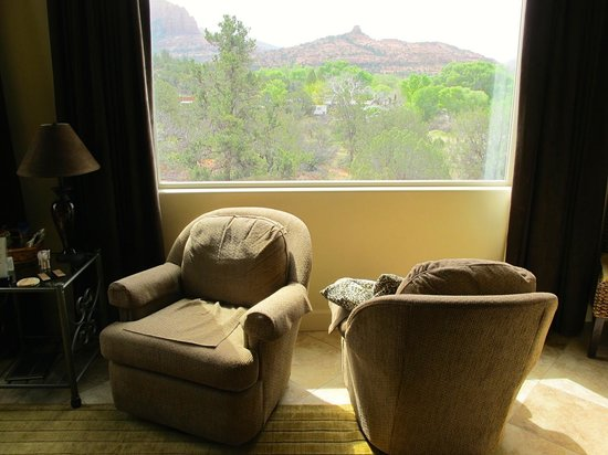 Sedona Cathedral Hideaway: Perfect Morning Sun