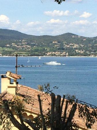 La Bastide d'Antoine : View of the bay.