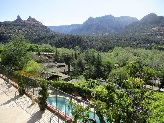 The Orchards Inn of Sedona: View from the balcony